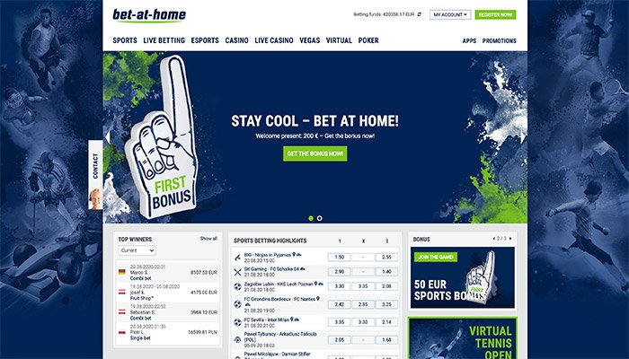 bet at home website